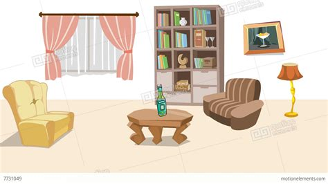 Living Room Background Stock Images Earthquake In Living Room Stock Animation 7731049