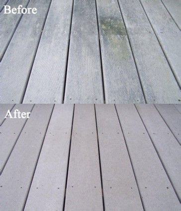 how to clean a composite how to clean composite deck restore a composite deck with