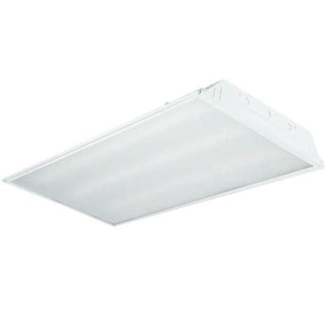 Ceiling Troffer by Envirolite 2 Ft X 4 Ft Prismatic 3 Recessed Led