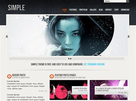 html5 personal website templates free collection of 51 free html5 and css3 templatespixel2pixel