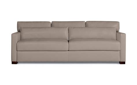 King Sleeper Sofa Vesper King Sleeper Sofa In Leather Design Within Reach