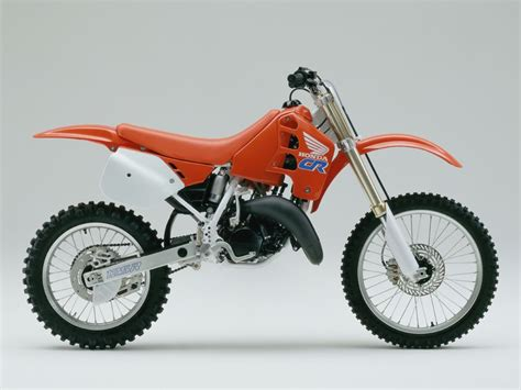 honda cr 125 мотоцикл honda cr 125 r 1990 описание фото запчасти