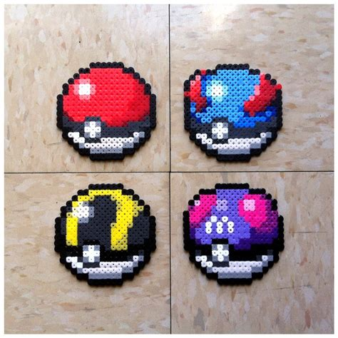 pokeball perler 1000 images about hama on