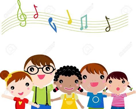 Sing A Song Clipart