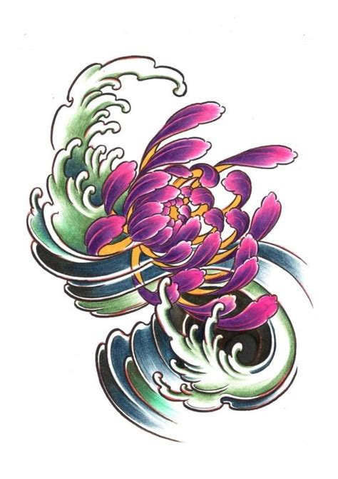 chrysanthemum flower tattoo designs chrysanthemum inspired designs