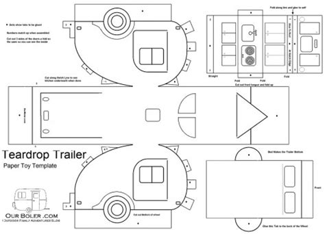 trailer template free free coloring pages of cer
