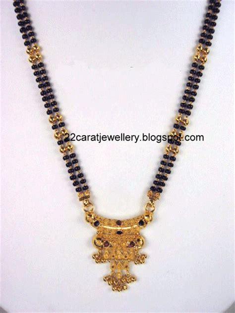 black bead chains in gold 22 carat gold black nallapusalu chain designs