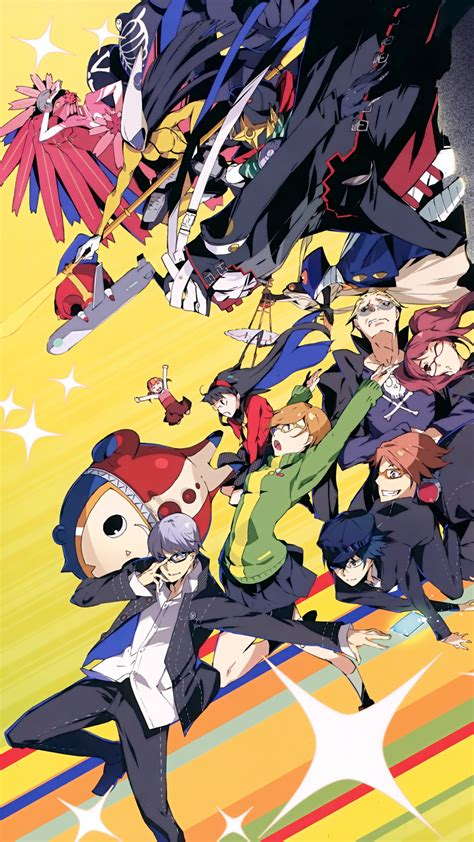 Anime Persona 4 Iphone All Hp the forgotten lair persona 4 mobile wallpapers