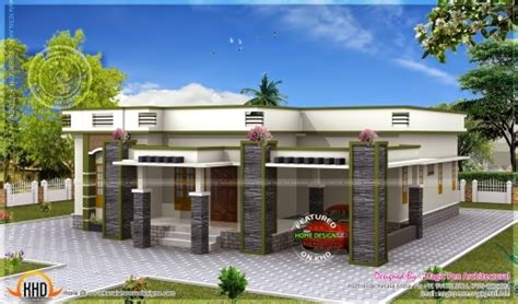 one floor house plans picture house inspiring floor plan of modern single floor home kerala home design and one elevation