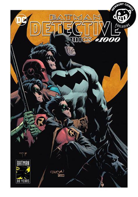 in color dc lineup dc comics detective comics 1000 exclusive variant comic