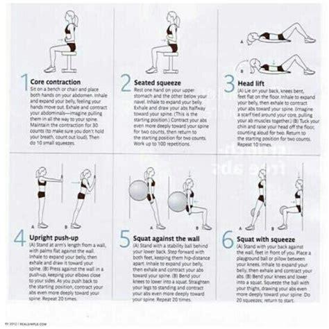exercises  diastasis recti   flat tummy
