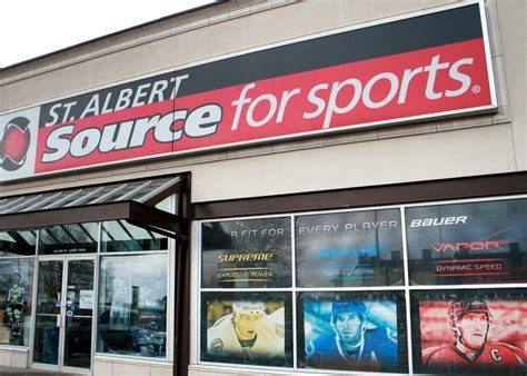 sports fan stores near me st albert source for sports st albert business