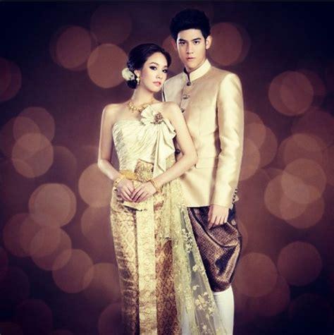 Thai Wedding by Traditional Thai Wedding Dress For Traditional