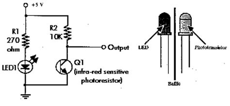 photoresistor polarity radioshack ir emitter detector distance sensors arduino calibration victor fang s computing space