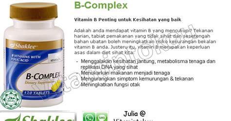 Ahli Vitamin B Complex Shaklee Kelebihan Vitamin B Complex Shaklee Vitamintokou