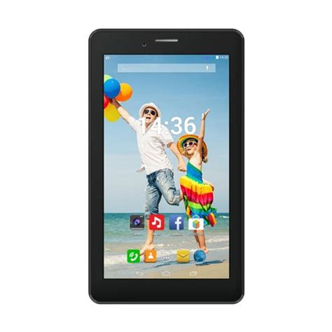 Tablet Evercoss Tablet Evercoss jual evercoss at7h tab jump s3 tablet hitam 8gb 512mb
