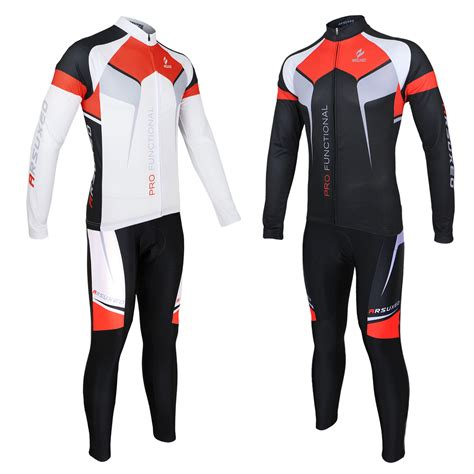 cycling suit jacket arsuxeo men sports cycling clothes bike bicycle suits