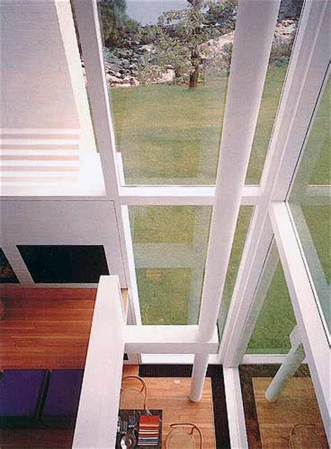 will smith house interior the smith house by richard meier in darien ct photograph interior view