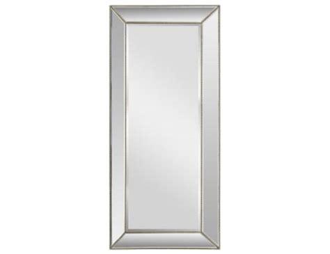 beaded leaner mirror steinhafels silver beaded leaner mirror