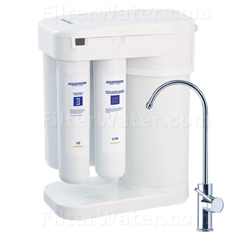 under sink reverse osmosis water filter aquaphor under sink water filtration system with ro fw dwm 101