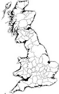 Britain Counties Outline Map by A Blank Map Thread Page 32 Alternate History Discussion