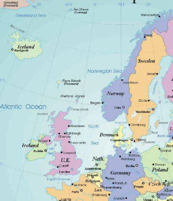 map northern europe countries map of europe cities pictures printable maps of northern