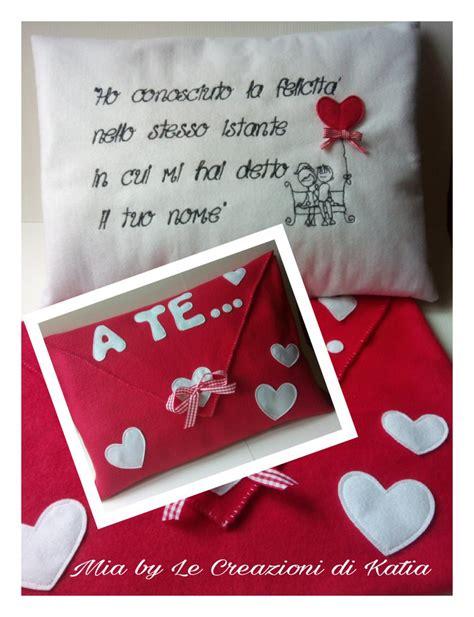 cuscino per san valentino cuscino san valentino feste idee regalo di by le