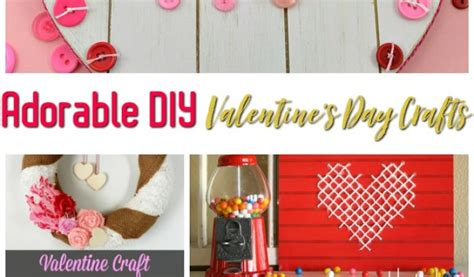 7 adorable diy for valentine s day eatwell101 7 adorable diy valentine s day crafts the frugal farm girl