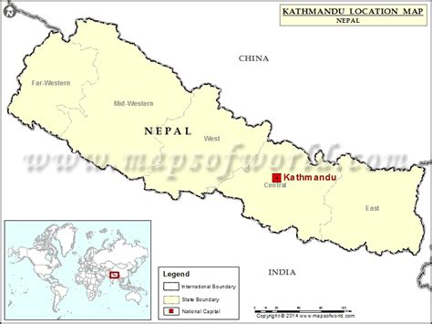 where is nepal on the map where is kathmandu location of kathmandu in nepal map