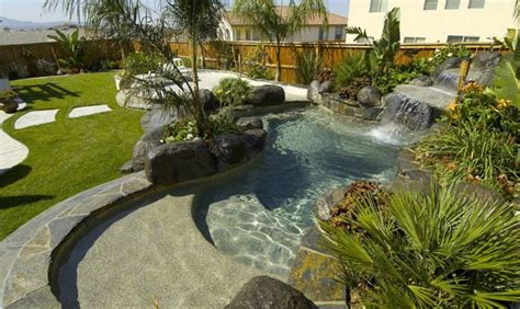Lazy River Pools For Your Backyard Water Features Firstpools