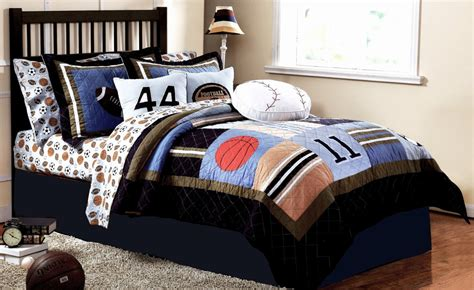 boy bedspreads and comforters white striped sports basketball bedding for boys simple bedroom design with