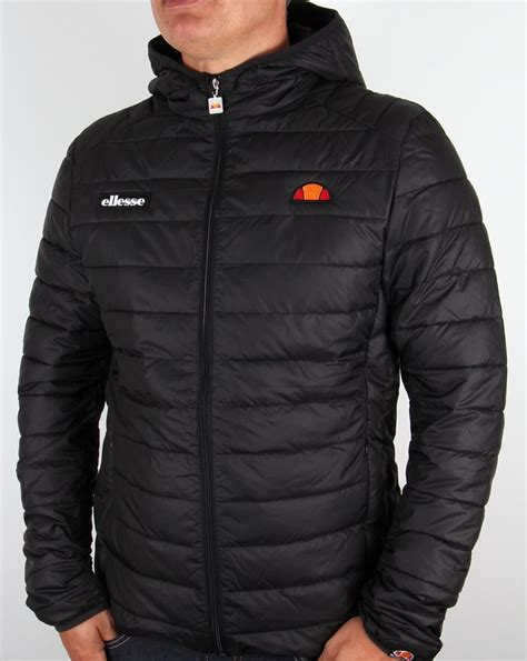 Ellesse Padded Jacket ellesse lombardy padded jacket black puffer ski coat mens