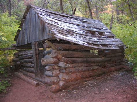 Arthurs Cabin by Arthur Fife Cabin In Zion National Park