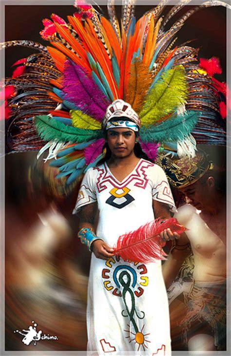 imagenes de indias aztecas danzante penacho colors desenfoque mexico azteca