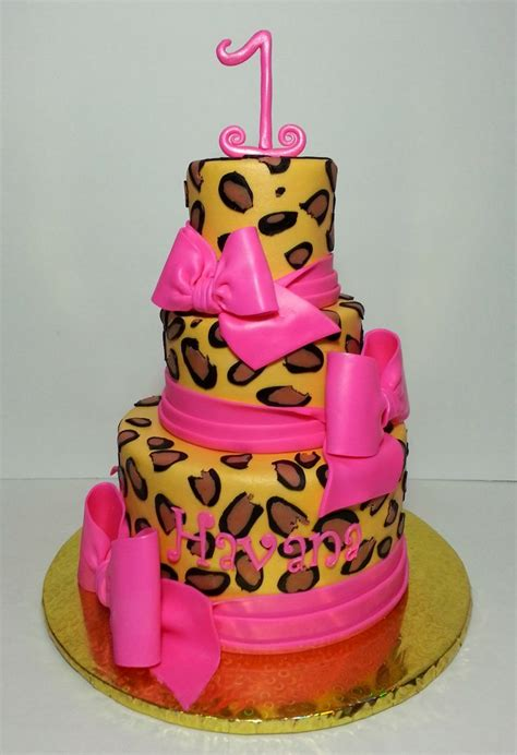 1000 ideas about cheetah print cakes on