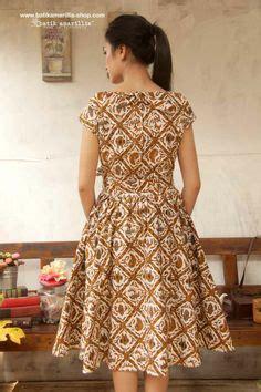 Bhatara Pola Bhatara Batik batik dress kebaya dress pendapa batik brown dress
