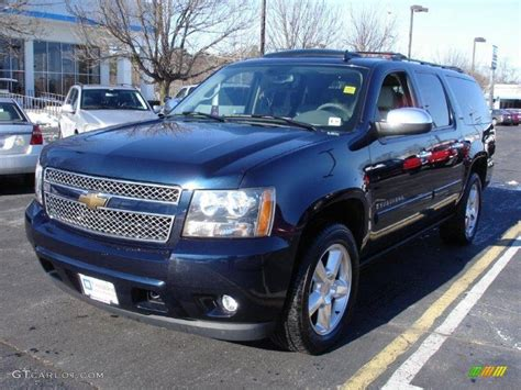chevy suburban blue 2007 chevy suburban ltz white car interior design