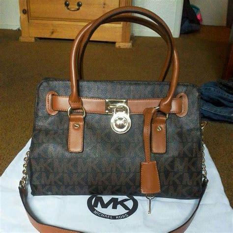 Mk Hamilton Medium Seprem michael kors bags medium brown hamilton logo tote bag