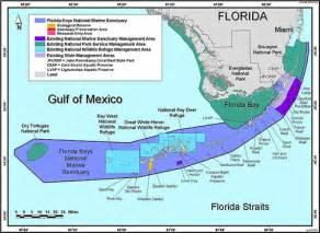 florida marine map florida national marine sanctuary sail fish scuba