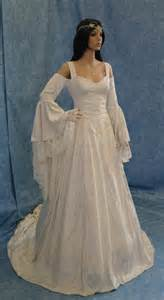 Renaissance medieval handfasting wedding dress fairy custom made