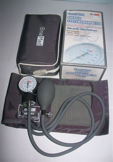 Onemed Tensi 200 Aneroid by Tensimeter Jarum Aneroid Sphygmo Manometer Onemed 200