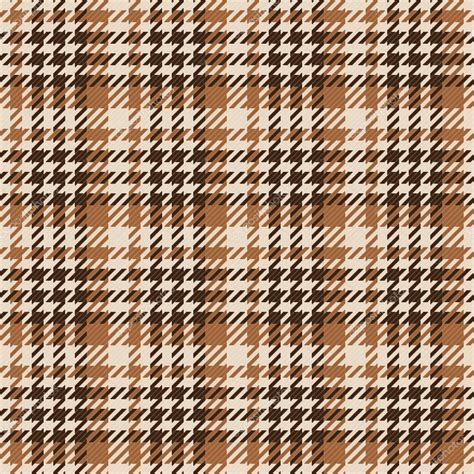 check pattern en francais seamless brown gingham comprised by threads stock vector