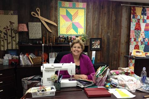 doan stitches together a quilting business in