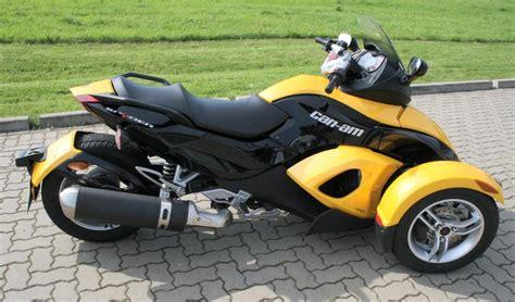 Quad Motorrad Oder Auto by Vorstellung Can Am Spyder Roadster Motorrad Oder Auto