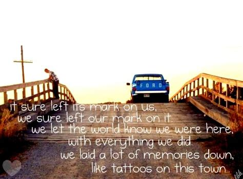 tattoos on this town lyrics 261 best images about country quotes