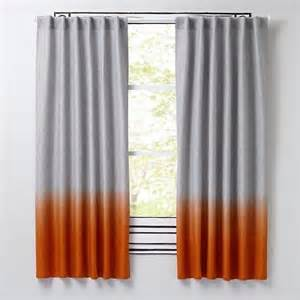 where can i get curtains dyed half dipped orange curtains chang e 3 dips and hands