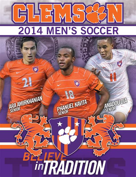 soccer record issuu 2014 clemson s soccer record book by clemson