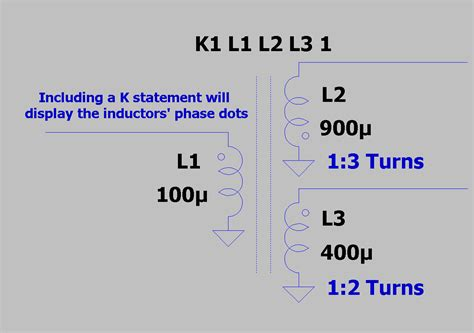 inductor transformer ratio solutions ltspice simple steps for simulating transformers