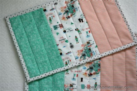 Patchwork Fabric Ireland - ireland flag mini quilt st s day placemat