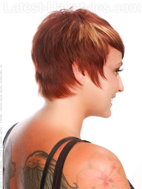 chunky hilites for the front of short hair 20 must have haircuts for round faces